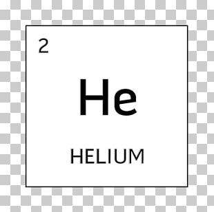 Periodic Table Symbol Chemical Element Helium Atom PNG