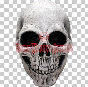 Latex Mask Skull Halloween Costume Skeleton PNG