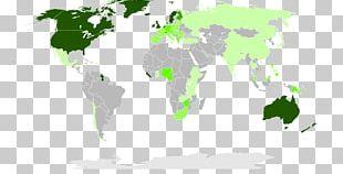 Second World War Globe World Map PNG