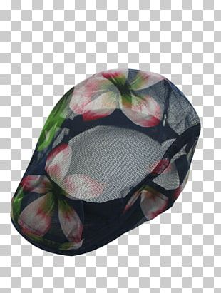 Baseball Cap Hat Beret Flower Wool PNG