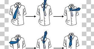 Necktie Windsor Knot Four-in-hand Knot Small Knot PNG