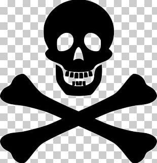 Piracy T-shirt Logo Jolly Roger PNG