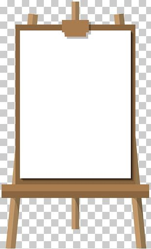 Easel Drawing Board PNG