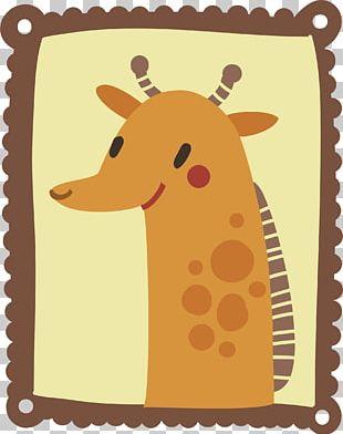 Giraffe Cartoon Drawing Illustration PNG