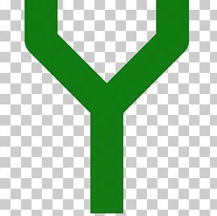 Logo Green Line Font PNG