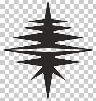 Christmas Tree Line Symmetry Symbol Pattern PNG