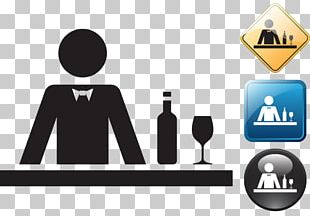 Bartender Pictogram Icon PNG