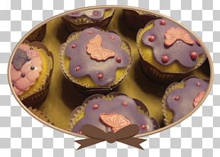 Cupcake Frosting & Icing Petit Four Muffin Praline PNG