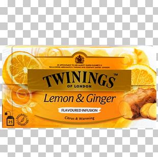 Ginger Tea Green Tea Vegetarian Cuisine Twinings PNG