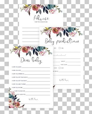 Wedding Invitation Wish Baby Shower Infant Greeting & Note Cards PNG