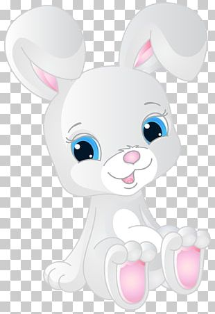Easter Bunny Angel Bunny Rabbit Cuteness PNG