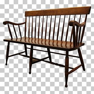 Table Chair Furniture Spindle Bench PNG