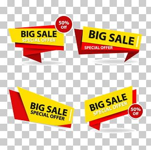 Sales Banner Advertising PNG
