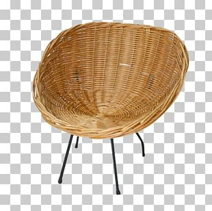 Rattan Table Chair Wicker PNG