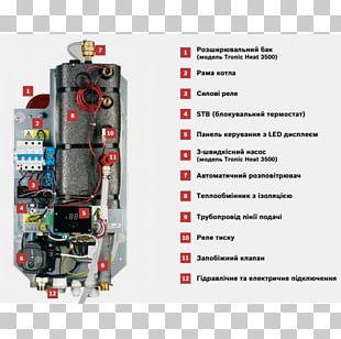Електричний котел Boiler Heat Electricity Robert Bosch GmbH PNG