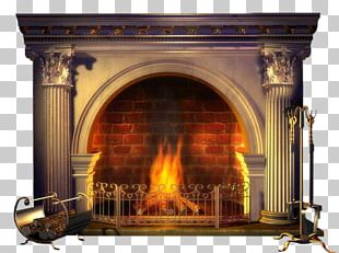 Fireplace Mantel Hearth Stove Fireplace Insert PNG