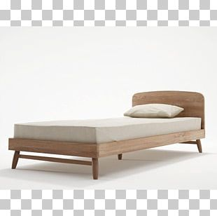 Bed Frame Mattress Furniture Bedroom PNG