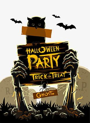 Halloween Party PNG