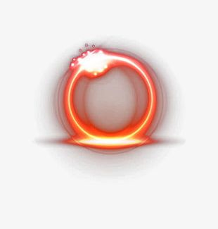 Red Light Circle PNG