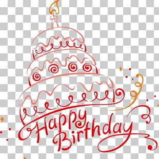 Birthday Cake Cupcake Happy Birthday To You PNG