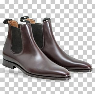 Chelsea Boot Shoe Leather Fashion PNG