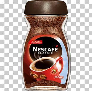 Instant Coffee Tea Nescafé Coffee Bean PNG