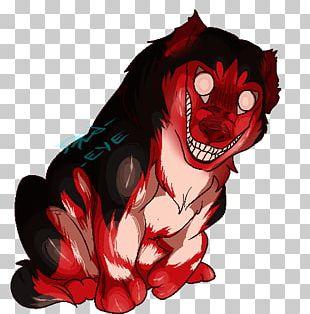 Smile Dog Slenderman Creepypasta Art PNG
