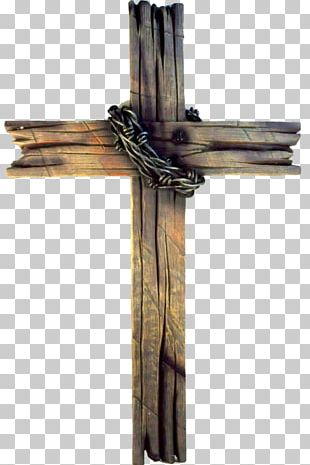 The Old Rugged Cross Wood Christian Cross Drawing PNG