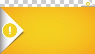 Yellow Text Box Vecteur Computer File PNG