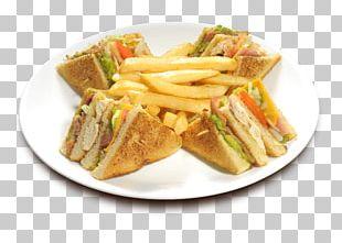 French Fries Club Sandwich Bacon Ham Hot Dog PNG