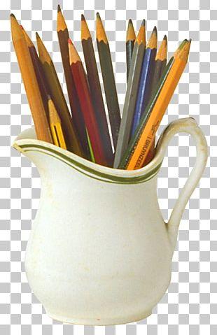 Colored Pencil Paper Clip School Supplies PNG