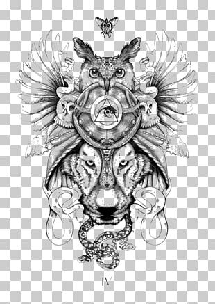 Tattoo Animal Totem Tribe Symbol PNG
