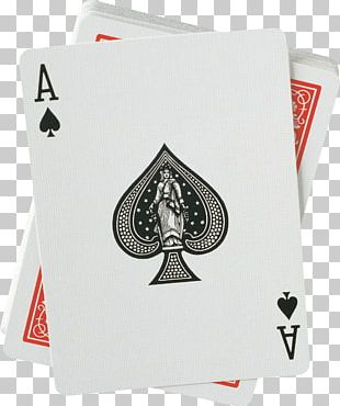 Ace Of Spades United States Playing Card Company Bicycle Playing Cards PNG