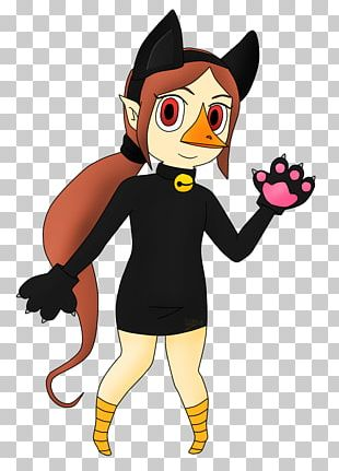 Halloween Costume Cat Mascot PNG