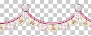 Pink M Body Jewellery Line PNG