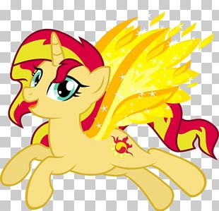 Pony Sunset Shimmer My Past Is Not Today Horse Art PNG