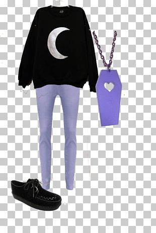 Gothic Fashion Soft Grunge Shoe Pastel PNG