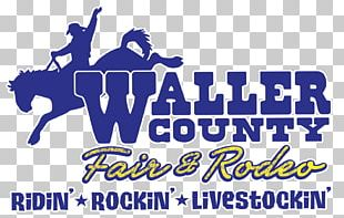 Logo Waller County Fairgrounds Brand Banner Recreation PNG