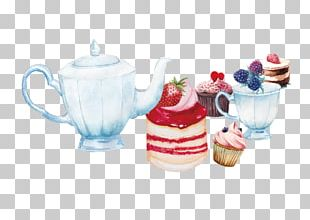 Teacake Teapot Kettle PNG