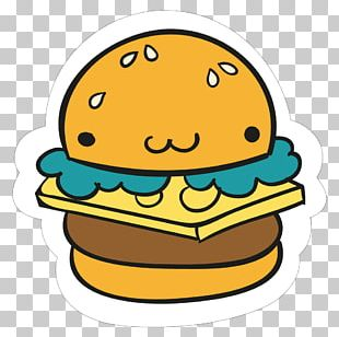 Hamburger Fast Food French Fries Sticker Burger King PNG