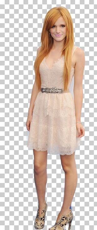 Bella Thorne Model Dress Photo Shoot PNG
