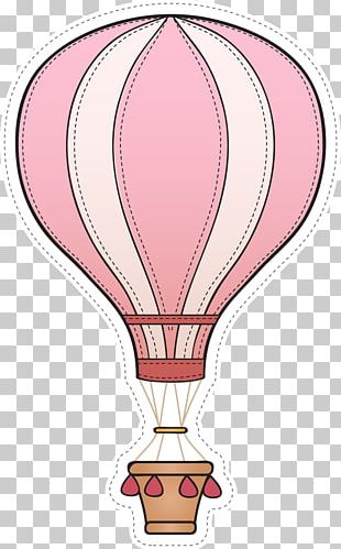 Wedding Invitation Hot Air Balloon Baby Shower Child PNG
