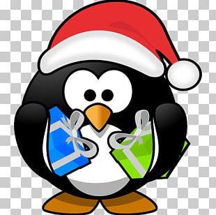 Santa Claus Penguin Christmas Santa Suit PNG
