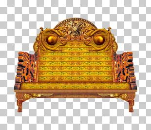 Emperor Of China Throne Chair Couch PNG