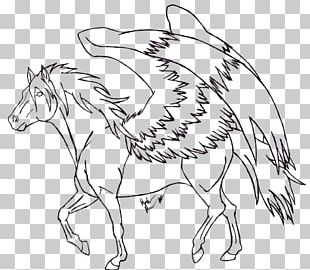 Line Art Drawing Coloring Book Horse PNG