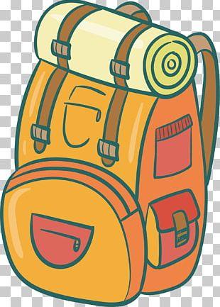 Travel Backpack Bag PNG