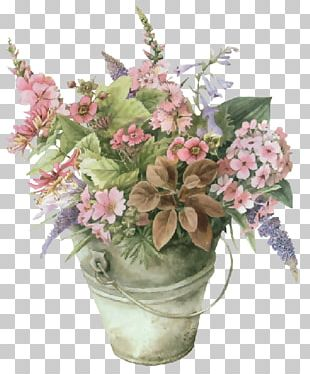 Floral Design Watercolor Painting Artist PNG