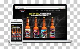 Responsive Web Design Fizzy Drinks Display Advertising Brand PNG