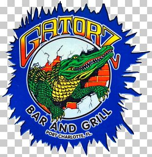 Gatorz Bar And Grill Logo Restaurant PNG
