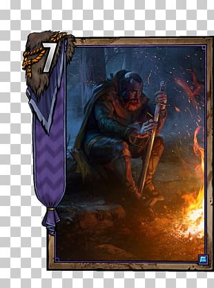 Gwent: The Witcher Card Game Playing Card Video Game Veteran Video Gaming Clan PNG